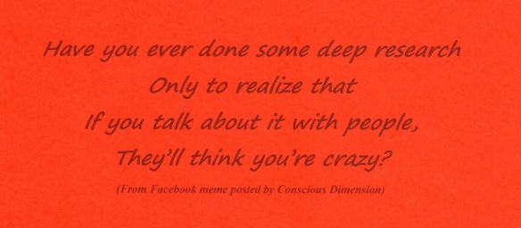 - Meme - People with think you're crazy
